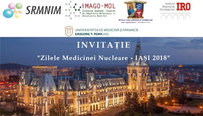 Zilele Medicinei Nucleare - 1-4 noiembrie 2018, Iasi