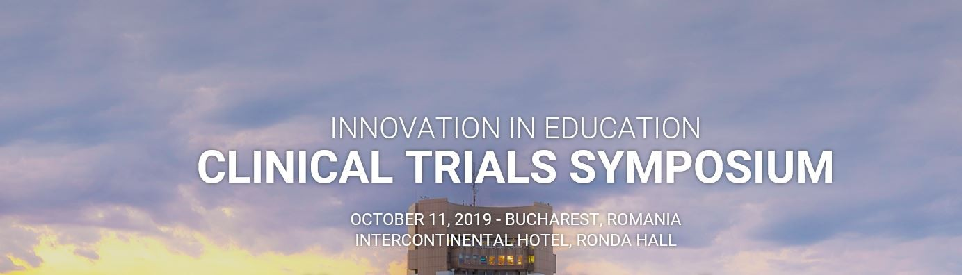 Clinical Trials Symposium- 11th of October, Bucharest