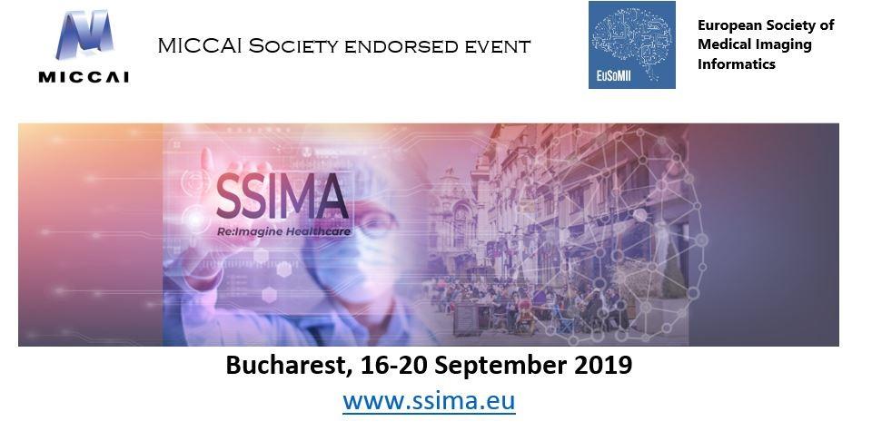 SSIMA Re:Imagine Healthcare 16-20 septembrie 2019, Bucuresti