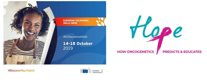 Erasmus + HOPE project during the European Week of Professional Skills event – 15th of October 2019, Iasi