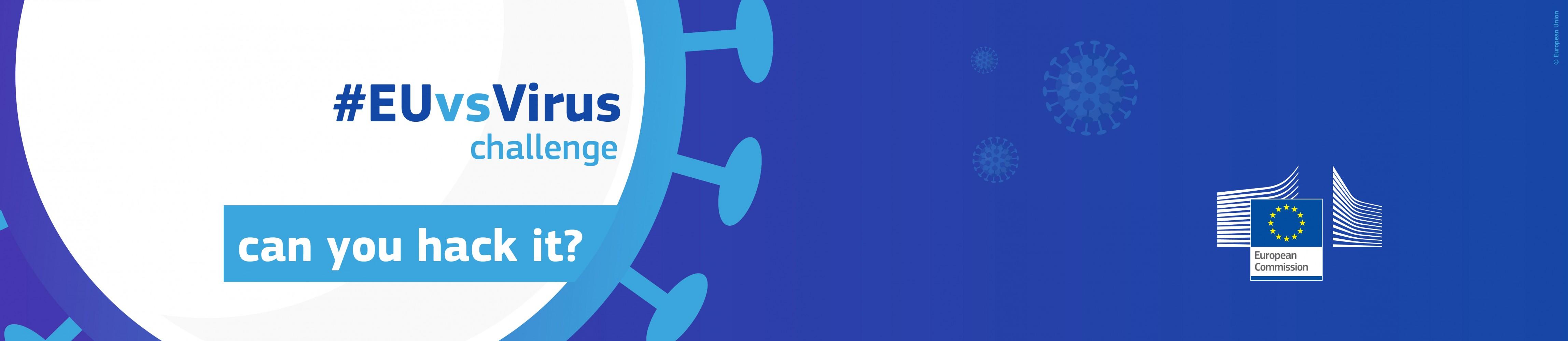 #EUvsVirus Pan European Hackaton on 24-26 April 2020!