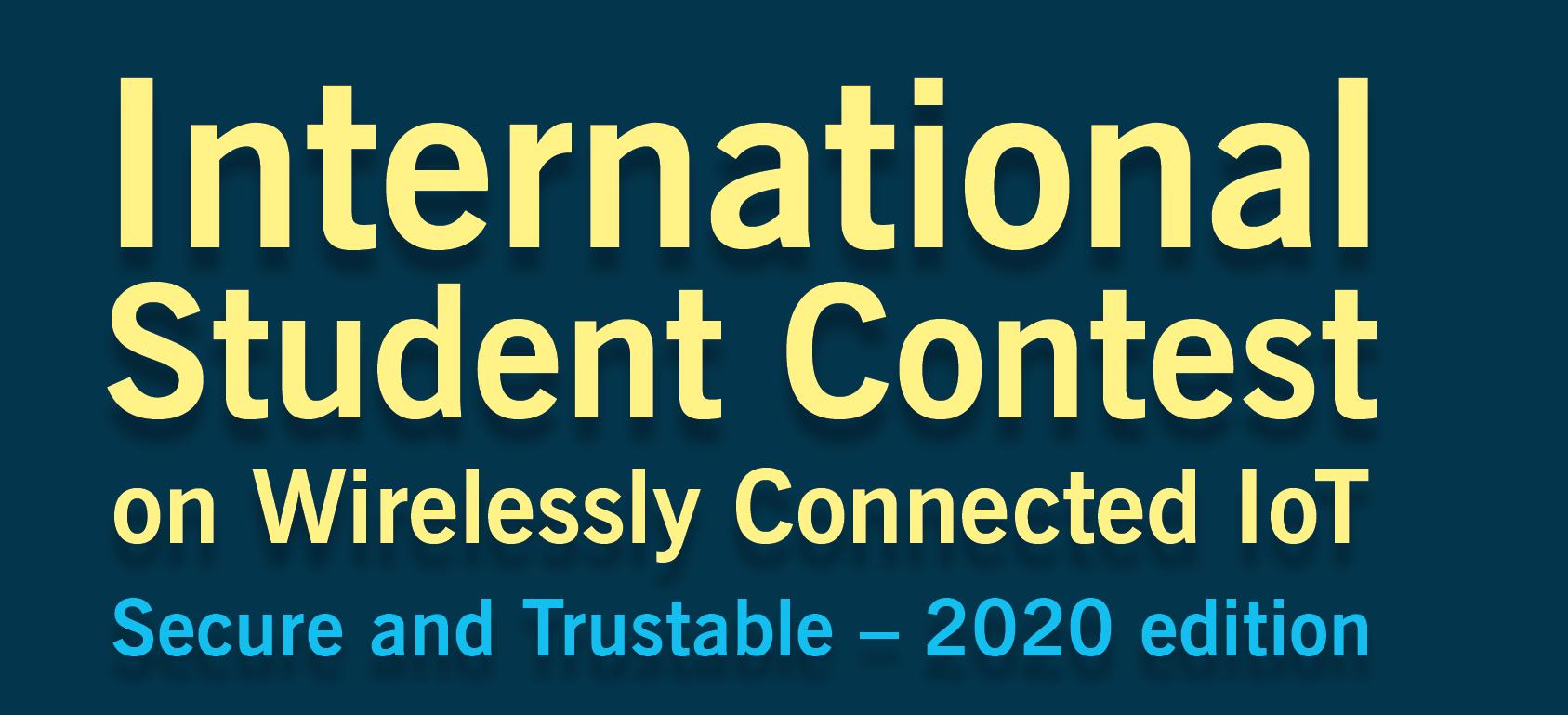 """""""SCOTT Student Contest on Wirelessly Connected IoT"""", concurs cu premii de pana la 1300 Euro  pentru studenți și proaspăt absolvenți!"""