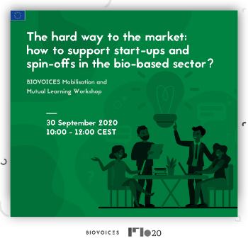 """Workshop BIOVOICES:  """"Calea grea către piață: cum să susținem start-up-urile și spin-off-urile din sectorul bio?"""""""